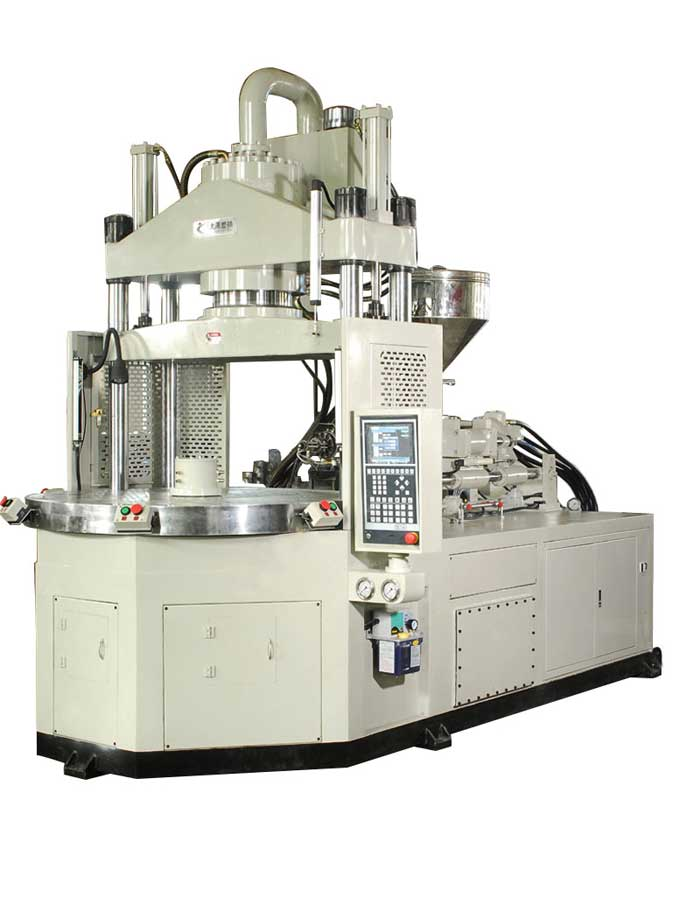 TK-1200.3R Angle Rotary injection molding machine