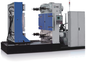 Large horizontal silicone rubber injection molding machine